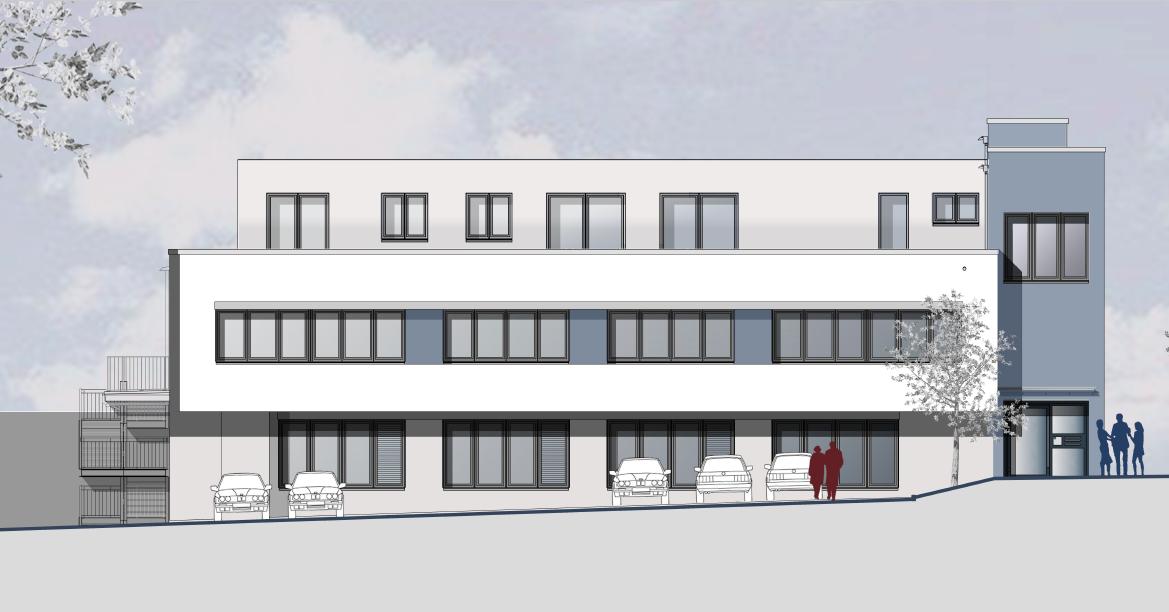 Lenhart Kosmetik neues Gebäude