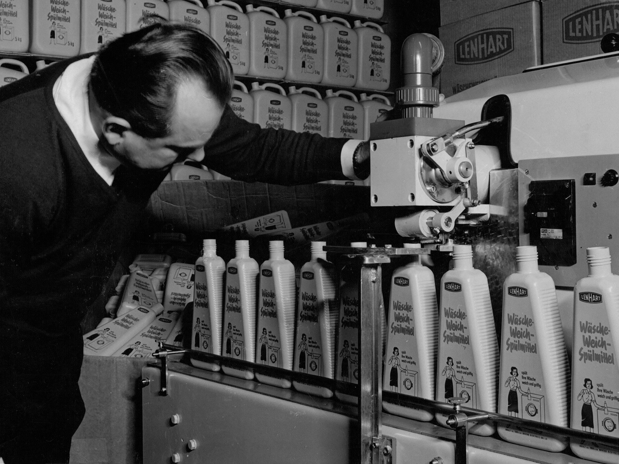 Lenhart Kosmetik Produktion Geschichte